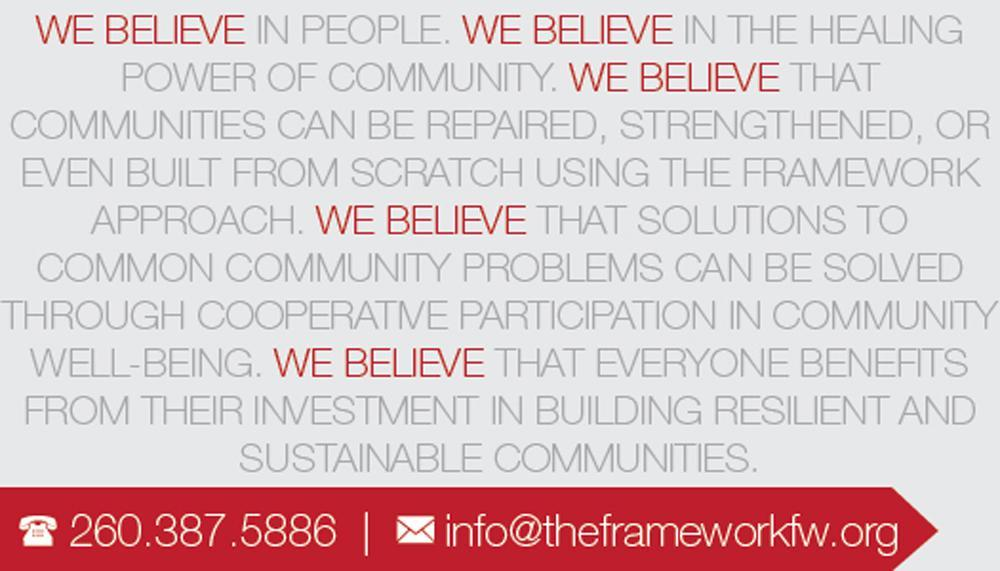 Business Card Back - We Believe