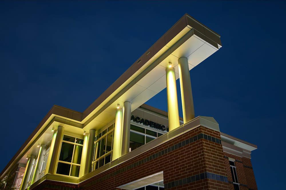 Indiana Tech Exterior Lights during Night 14