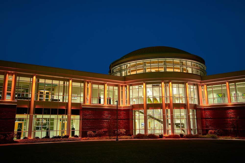 Indiana Tech Exterior Lights during Night 10