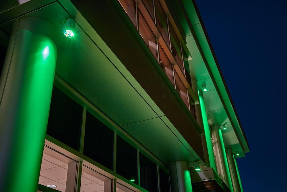 Indiana Tech Exterior Lights during Night 13