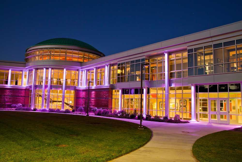 Indiana Tech Exterior Lights during Night 5