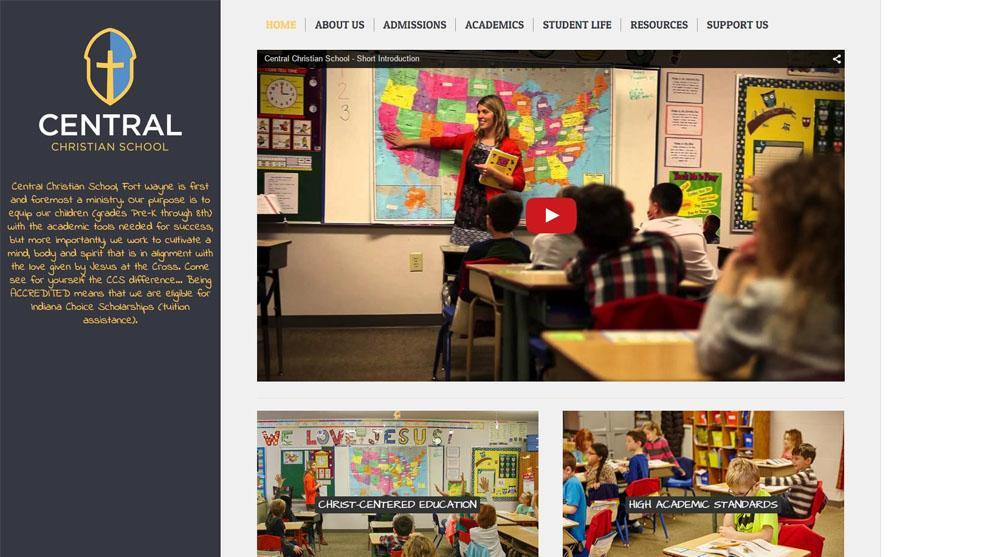 Central Christian School - Home Page