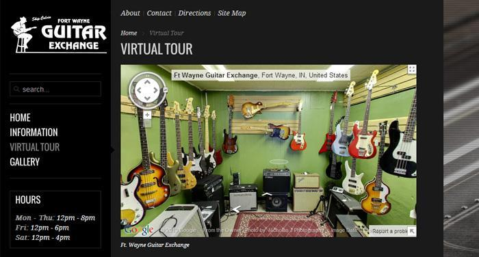 Website Virtual Tour