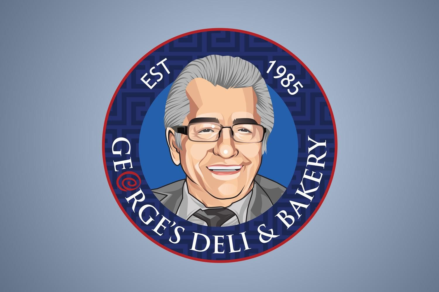 Georges Deli And Bakery Logo 1