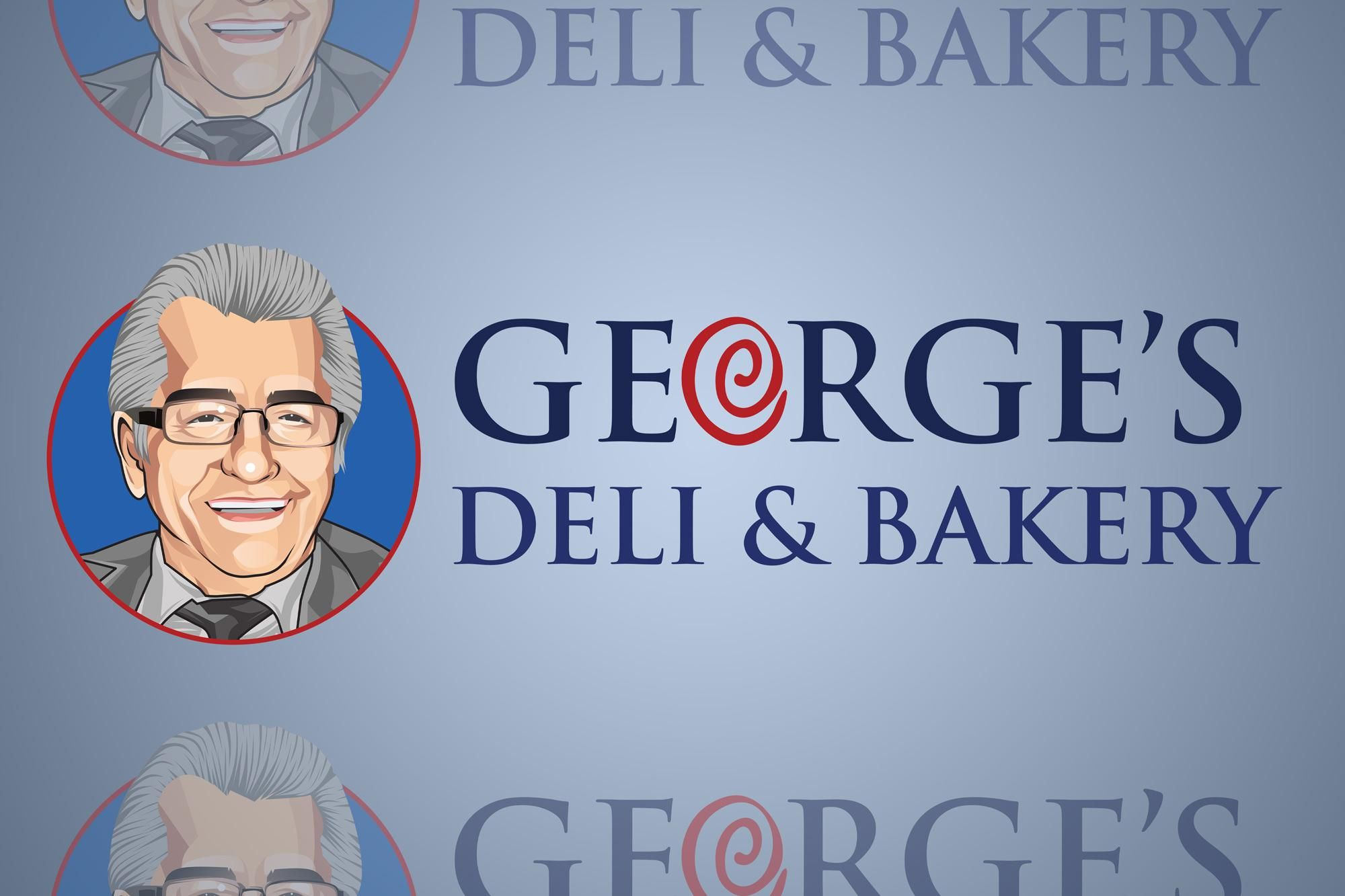 Georges Deli And Bakery Logo 2