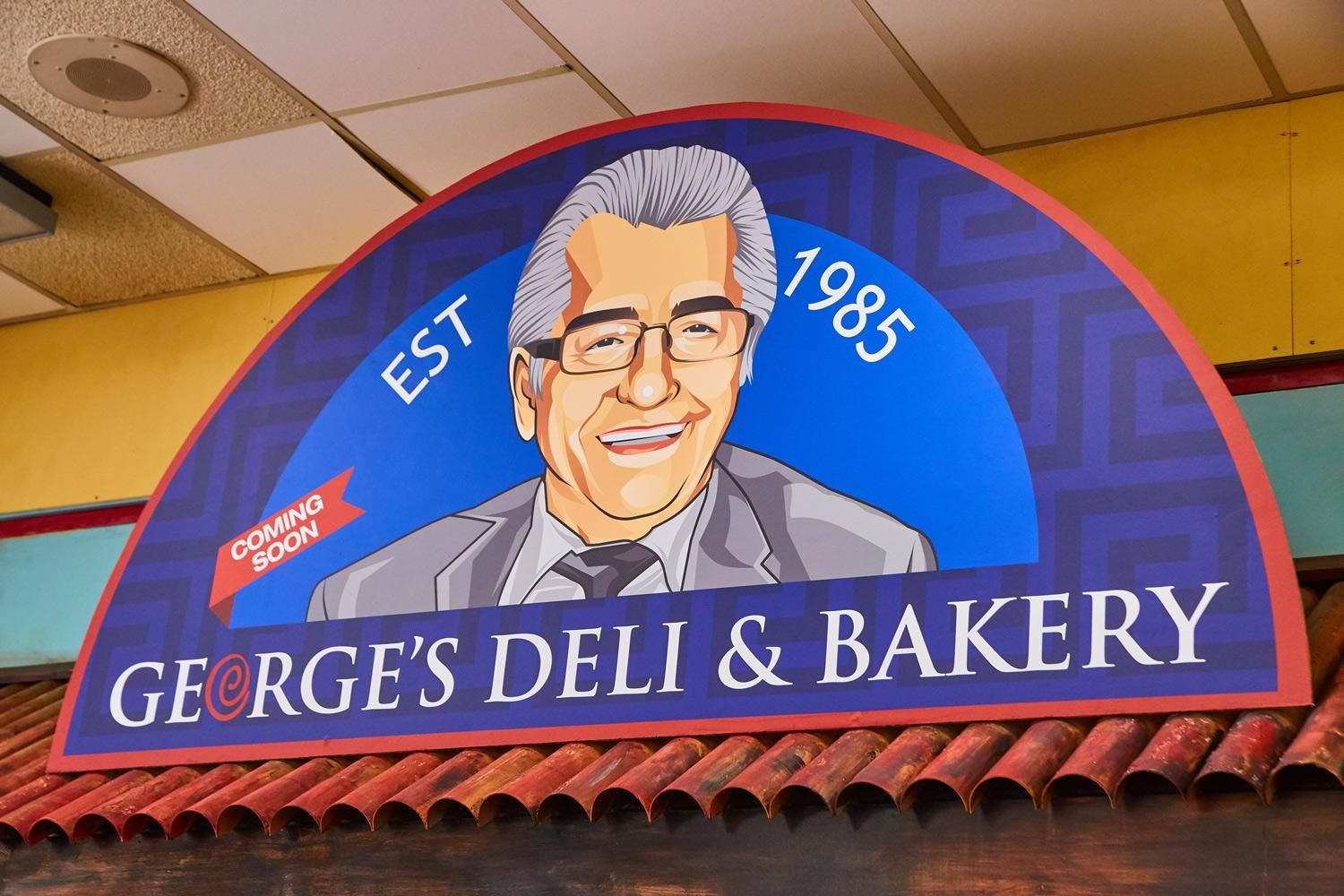 Georges Deli And Bakery Logo